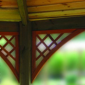 English Trellis Corner Element