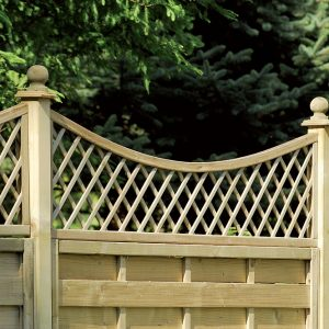English Trellis Concave Top