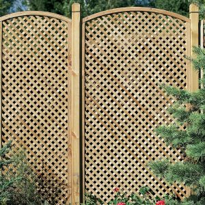 Privacy Diamond Trellis Convex