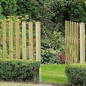 Board Fence and Gates