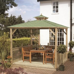 Tiled Lindrick Canopy